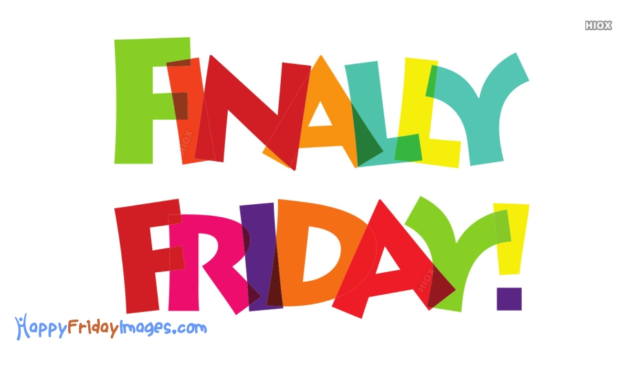 Colorful Happy Friday Images