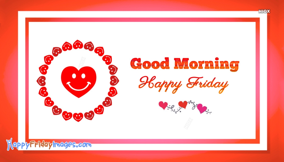 Happy Friday Heart Images