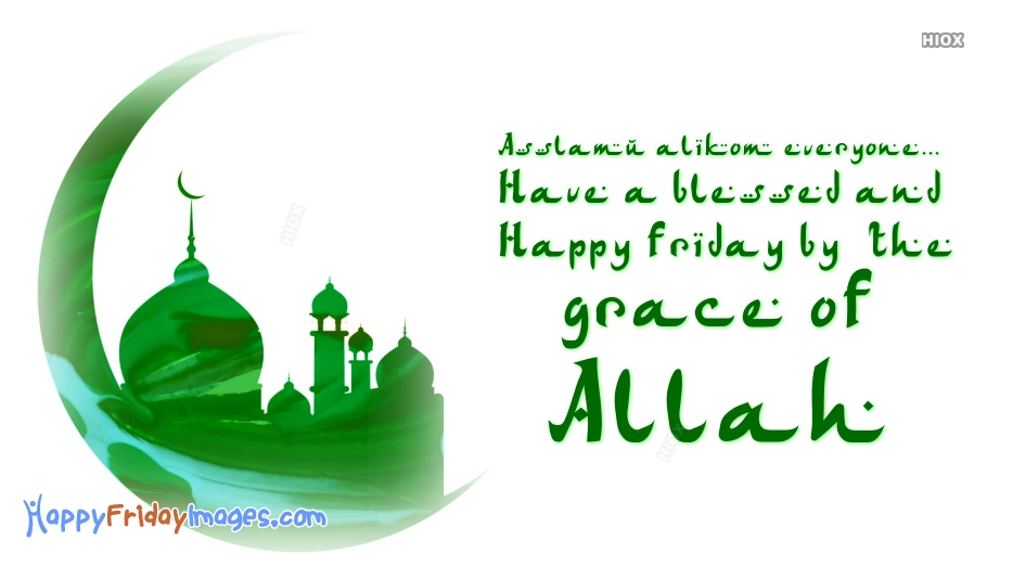 Friday Wishes To Muslim