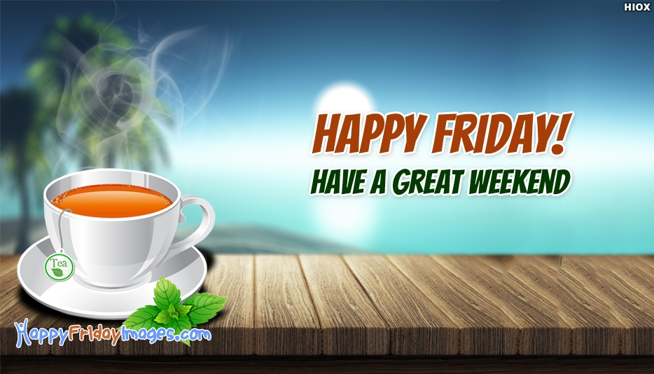 Happy Friday Clip Art - Happy Friday! Have a Great Weekend