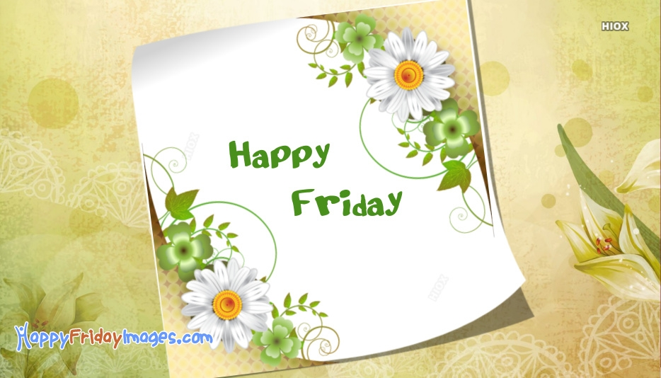 Happy Friday Images for Whatsapp Dp
