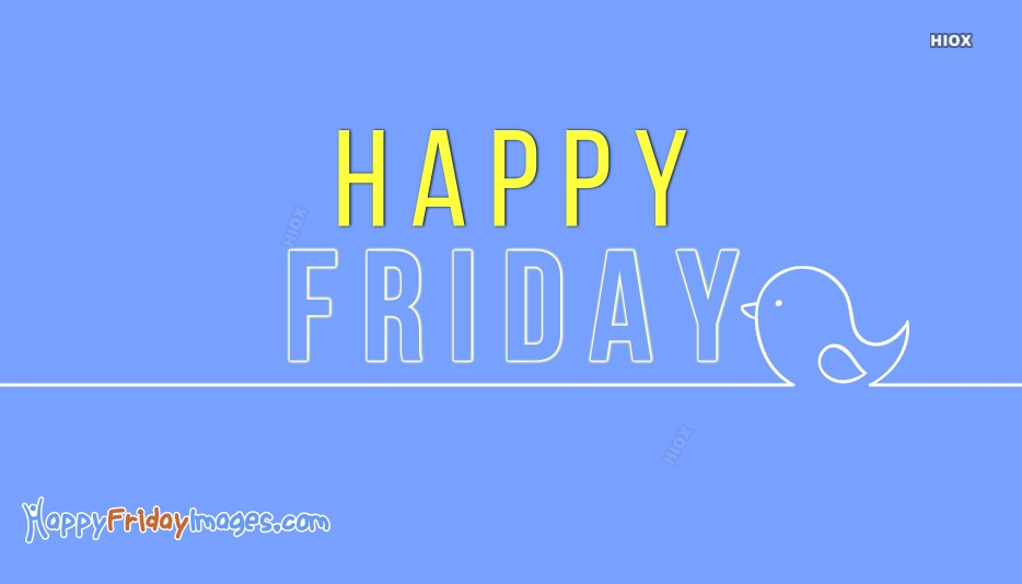 Happy Friday Words