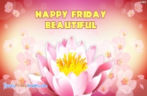 Beautiful Happy Friday Wishes Images