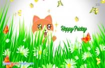 Happy Friday Cat