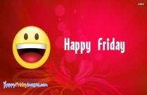 Happy Friday Emoticon