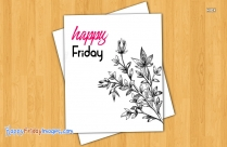 Happy Friday Flowers Images