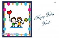 Happy Friday Friends Clip Art