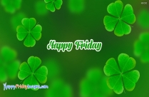 Happy Friday Green