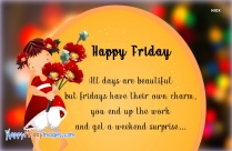Happy Friday Morning Sms
