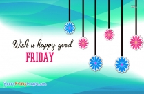 Wish U Happy Good Friday Image