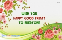 Wish You Happy Good Friday To Everyone