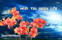 Wish You Happy Life